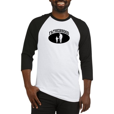 Fatherhood (BLACK circle) Baseball Jersey