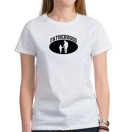 Fatherhood (BLACK circle) Women's T-Shirt
