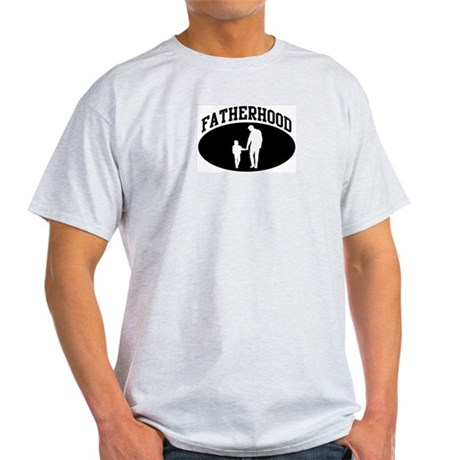 Fatherhood (BLACK circle) Light T-Shirt