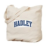 HADLEY design (blue) Tote Bag