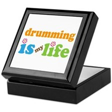 Drumming Percussion Keepsake Box