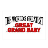 """The World's Greatest Great Grand Baby"" Postcards"