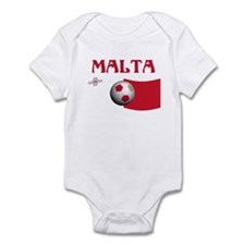 TEAM MALTA WORLD CUP Infant Bodysuit