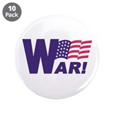 "WAR 3.5"" Button (10 pack)"