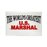 """The World's Greatest U.S. Marshal"" Rectangle Magn"