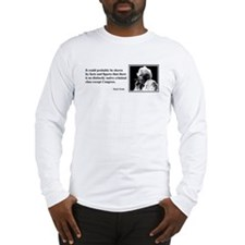 Twain on Criminal Class Long Sleeve T-Shirt