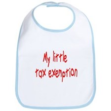 MY LITTLE TAX EXEMPTION Bib