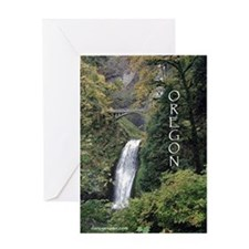 Oregon - Multnomah Greeting Card