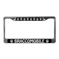 "Bracco Italiano ""Braccomobile"" License Plate Frame"