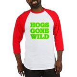 Green Hogs Gone Wild Baseball Jersey