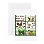 Christmas Birds Greeting Cards (Pk of 20)
