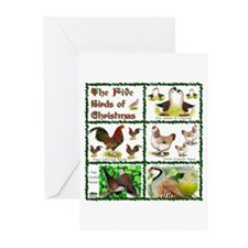 Christmas Birds Greeting Cards (Pk of 10)