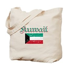 Kuwaiti Flag Tote Bag