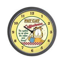 Coffeehouse Garfield Wall Clock