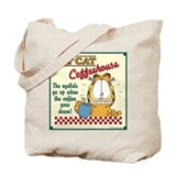 Coffeehouse Garfield Tote Bag
