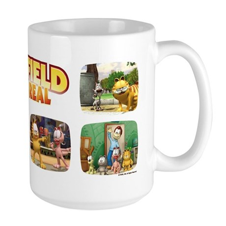 Garfield Gets Real Large Mug