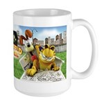 Garfield Gets Real Large Mug