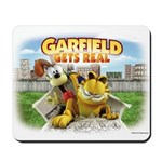 Garfield Gets Real Mousepad