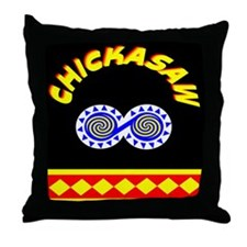 CHICKASAW INDIAN Throw Pillow