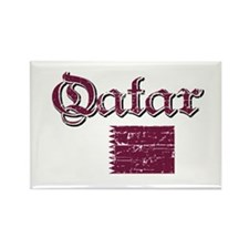 Qatari flag Rectangle Magnet