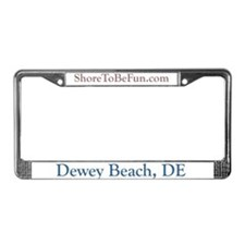 Dewey Beach DE License Plate Frame