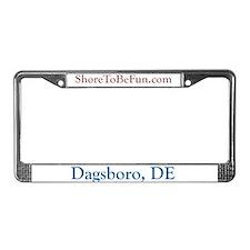 Dagsboro DE License Plate Frame