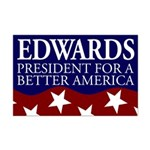 Edwards for President 11x17 Poster
