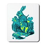 White Rabbit Mousepad