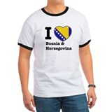 I love Bosnia and Herzegovina T