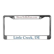 Little Creek DE License Plate Frame