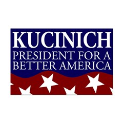 Kucinich for a Better America Poster