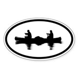 Canoe Oval Decal