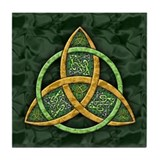 Celtic Trinity Knot Tile Coaster