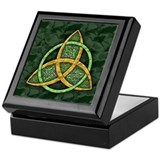 Celtic Trinity Knot Keepsake Box