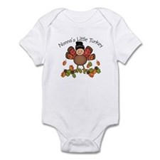 Nonna's Lil Turkey Infant Bodysuit