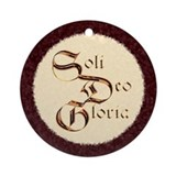 &quot;Soli&quot; Ornament (Round)