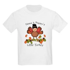 Nana & Poppy's Lil Turkey T-Shirt