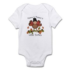 Nana & Poppy's Lil Turkey Infant Bodysuit