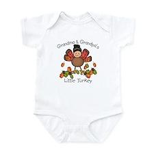 Grandma & Grandpa's Lil Turkey Infant Bodysuit