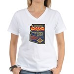 Arizona Masonic HP Women's V-Neck T-Shirt