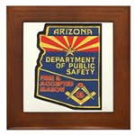 Arizona Masonic HP Framed Tile