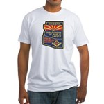 Arizona Masonic HP Fitted T-Shirt