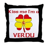 Verdu Family Throw Pillow