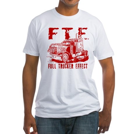 FTE - Red Fitted T-Shirt