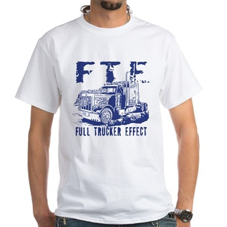 FTE - Blue White T-Shirt