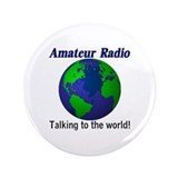 "Talking To The World 3.5"" Button"