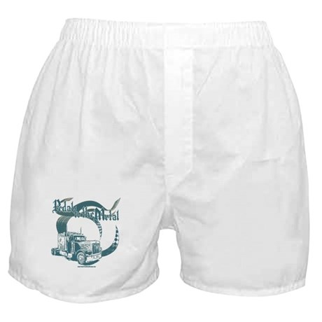 PTTM-Trucker-Blue Boxer Shorts