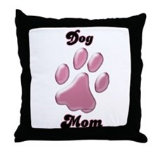 Dog Mom3 Throw Pillow