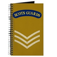 Scots Guards Sgt<BR> Deployment Log Book