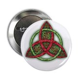 "Celtic Holiday Knot 2.25"" Button"